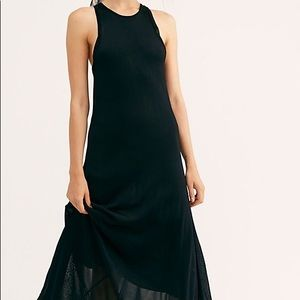 NWT Free People slinky maxi dress
